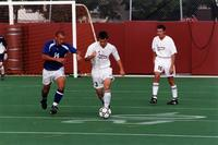 Jason Clark goes forward with the ball, 2001.