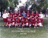 Augsburg men's soccer team, 2004-2005.