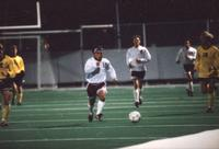 Hai Le runs after the ball, 1995.