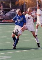 Joe Huffer controls the ball, 1999.