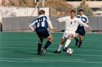 Jon Propst dribbles a player, 1997.