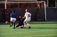Joe Huffer takes a shot, 1999.