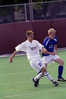 Scott Lepper passes the ball, 2001.