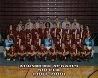 Augsburg men's soccer team, 2007-2008.