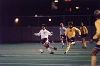 Rob Reimann on a counter attack, 1994.