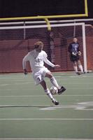 Geoff Johnson settles the ball in a game against St. Thomas, 2003.