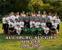 Augsburg men's soccer team, 2006-2007.