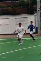 Steve Gehrman controls the ball, 2001.