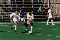 Hugo Quintiliano passes the ball, 2001.
