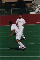 Hugo Quintiliano dribbles in the midfield, 2001.