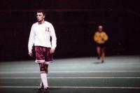Jeremy Stickney waits for the ball, 1994.