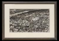 Aerial photograph of Augsburg College and Theological Seminary, 1947