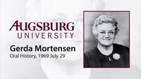 Oral History Interview with Gerda Mortensen (1 of 4)