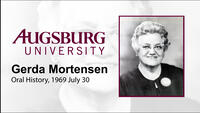 Oral History Interview with Gerda Mortensen (2 of 4)