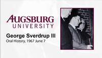 Oral History Interview with George Sverdrup III (1967)