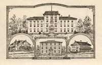 Letterhead featuring Augsburg Seminary Campus Buildings, circa 1895