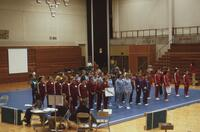 Minnesota state Gymnastics meet, February 1976