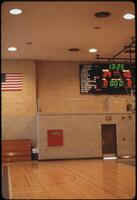 Photo of the scoreboard, February 1978