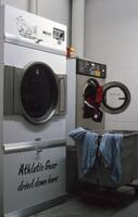 Washing machines and dryers in Si Melby, circa 1979