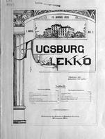 Augsburg Ekko January 15, 1899