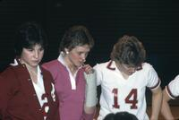 Augsburg women's basketball team players, 1984.