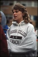 An Augsburg women's track and field team player, 1985.
