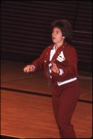An Augsburg women's basketball team player, 1985.