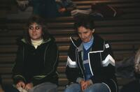 Augsburg women's basketball team audience, 1984.