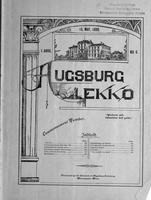 Augsburg Ekko May 15, 1899, Page 01