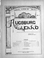Augsburg Ekko October 15, 1899