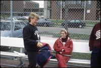 Augsburg women's tennis players, circa 1990.
