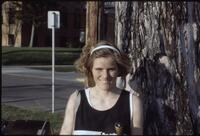 An Augsburg women's tennis team player, 1997.