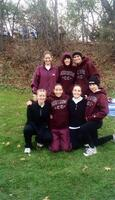 Augsburg women's cross country team photo, circa 2000