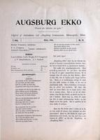 Augsburg Ekko May, 1900, Page 03