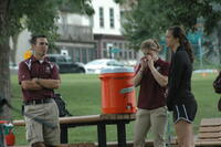 Augsburg athletic trainers at a cross country event, 2011.