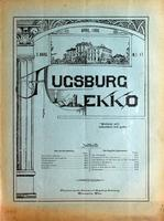 Augsburg Ekko April, 1900