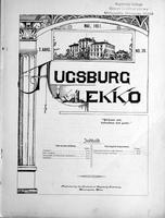 Augsburg Ekko May, 1901