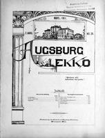 Augsburg Ekko March, 1901