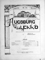 Augsburg Ekko October, 1901