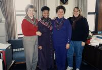 M. Anita Gay Hawthorne in group shot with other folks, 1990
