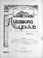 Augsburg Ekko January, 1902