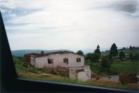 A building in an outdoors scene in Africa, 1990