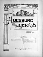 Augsburg Ekko April, 1902
