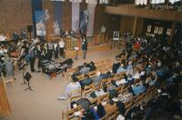 unidentified Black people and others during the Martin Luther King Convocation, 1995