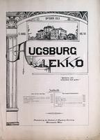 Augsburg Ekko October, 1903
