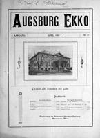 Augsburg Ekko April, 1907