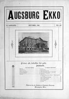 Augsburg Ekko October, 1908