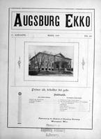 Augsburg Ekko March, 1909