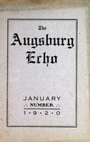 Augsburg Echo January, 1920