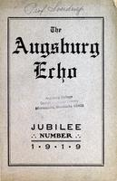 Augsburg Echo Jubilee Number [November], 1919